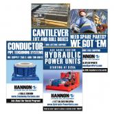 Hannon Print Ad Design
